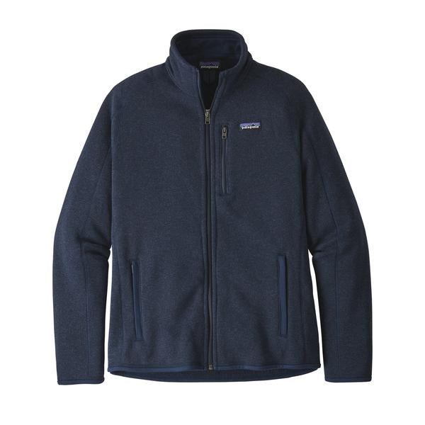 Patagonia Better Sweater Jacket New Navy - Stencil