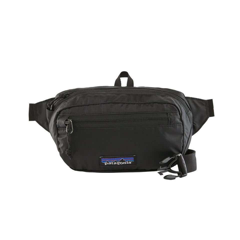 Patagonia Ultralight Black Hole Mini Hip Pack Black - Stencil