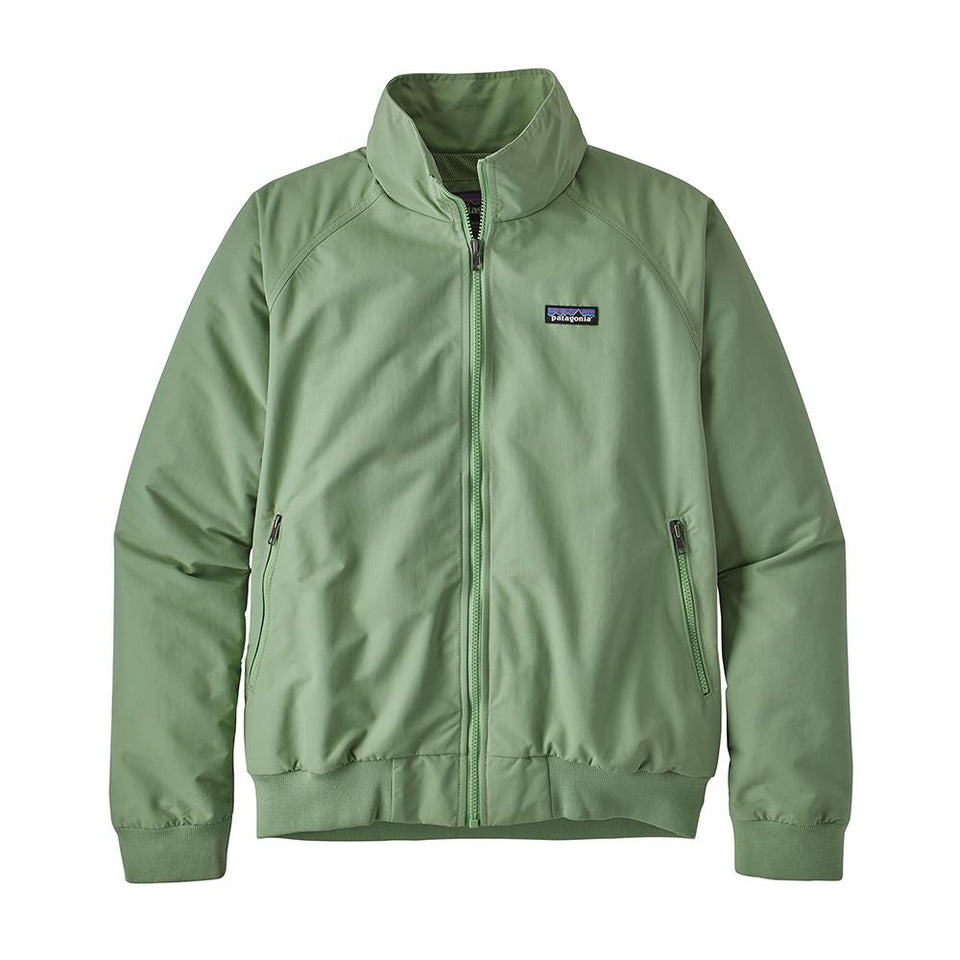 Patagonia Mens Baggies Jacket Matcha Green - Stencil