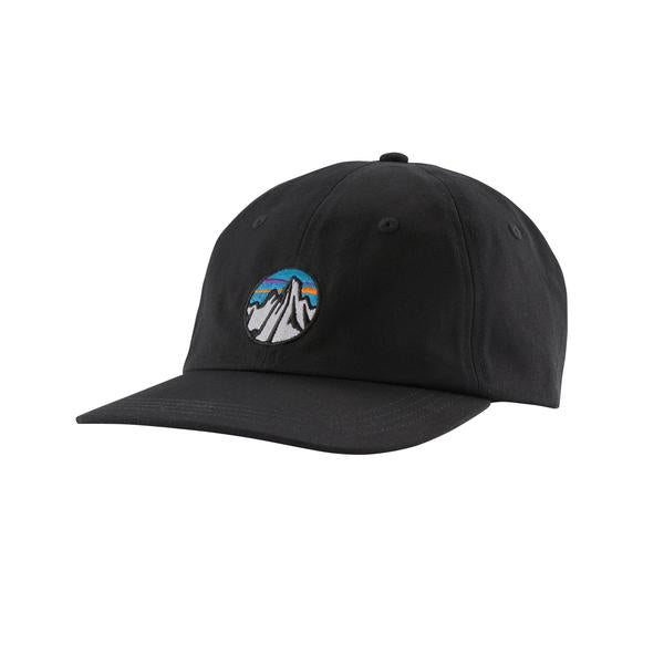 Patagonia Fitz Roy Scope Icon Trad Cap Black - Stencil