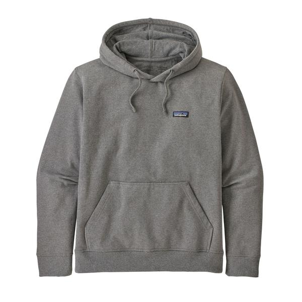 Patagonia P6 Label Uprisal Hoody Gravel Heather - Stencil