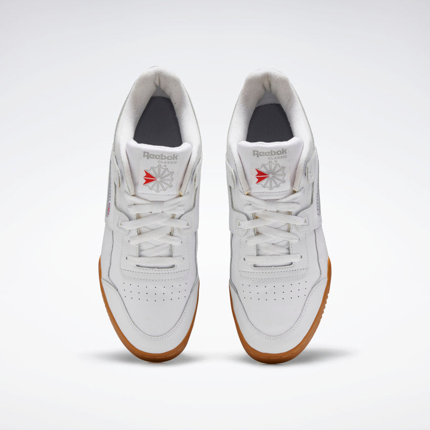 Reebok Workout Plus White/Carbon/Red/Royal - Stencil