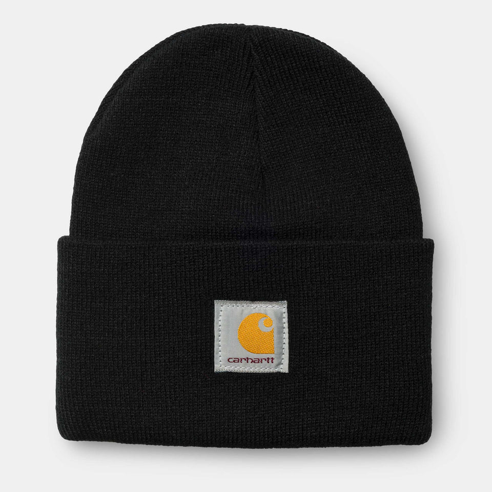 Carhartt Acrylic Watch Hat Black - Stencil