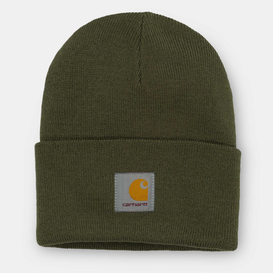 Carhartt Acrylic Watch Hat Cypress - Stencil