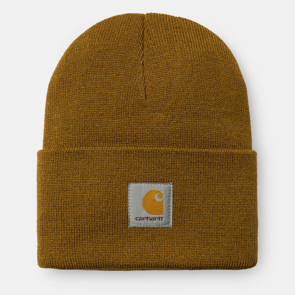 Carhartt Acrylic Watch Hat Hamilton Brown - Stencil