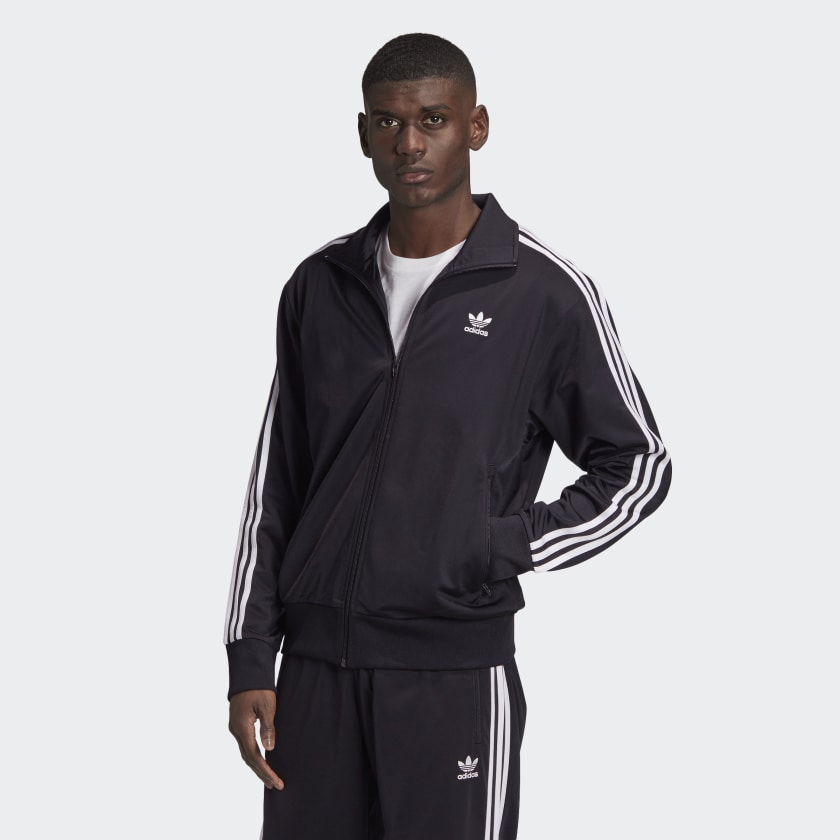 Adidas Firebird Track Jacket Black/White