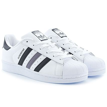 Adidas Superstar White/Black/Grey