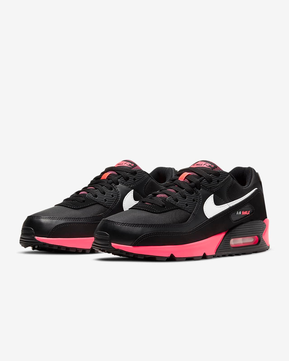 Nike Air Max 90 Black/White-Racer Pink