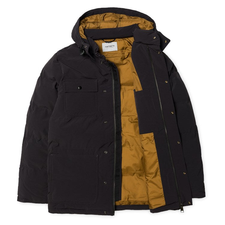 Carhartt Alpine Coat Black/Hamilton Brown - Stencil