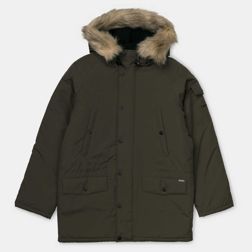 Carhartt Anchorage Parka Cypress - Stencil