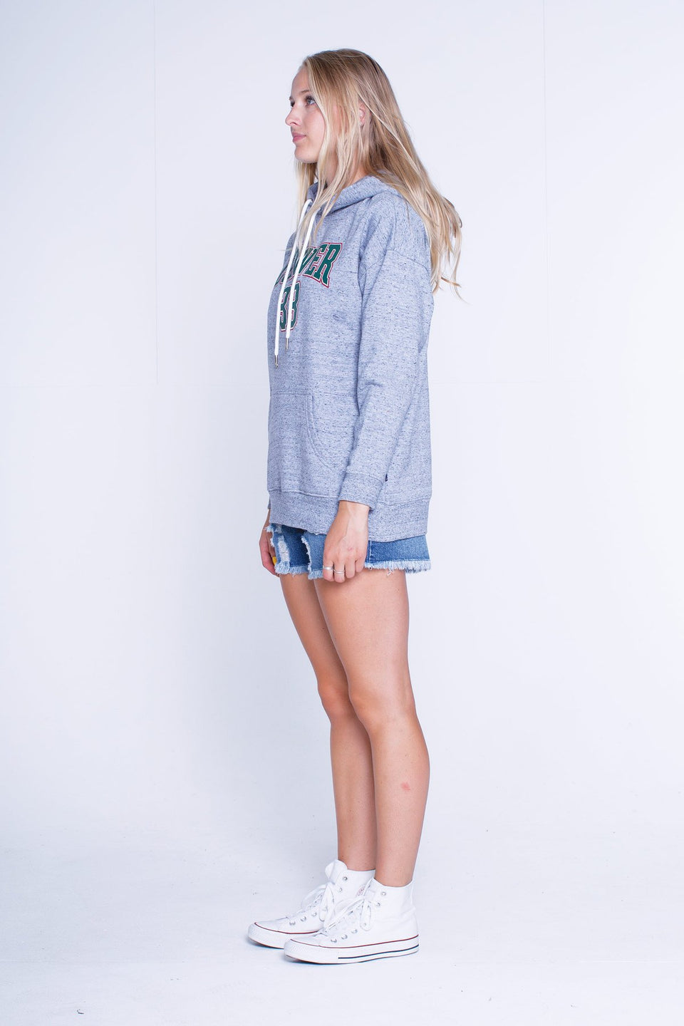 Lower Hettie Hood Blaster Grey Marle
