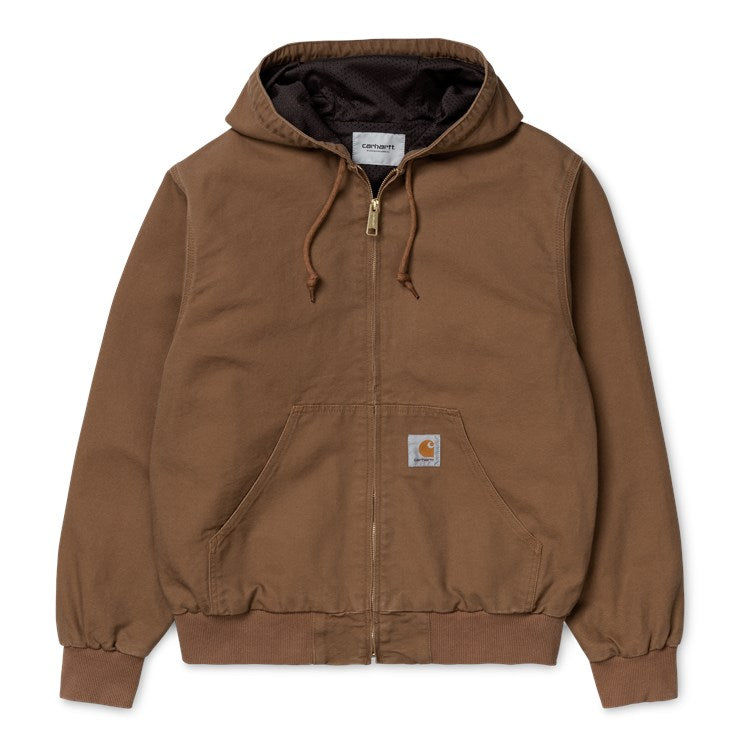 Carhartt Active Jacket Hamilton Brown Rinsed