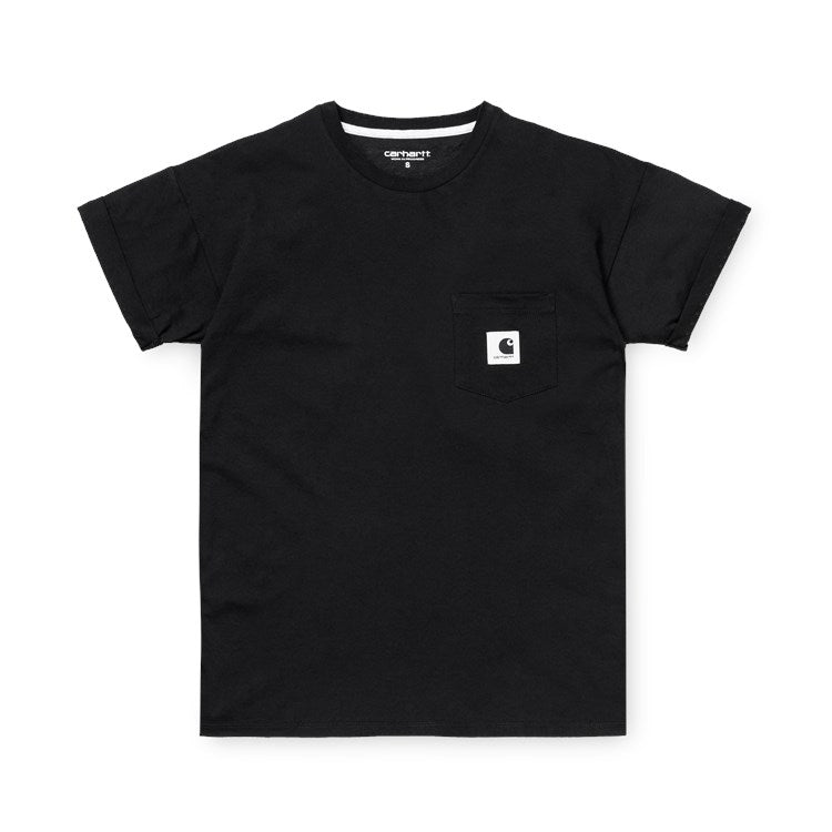 Carhartt W S/S Carrie Pocket Tee Black
