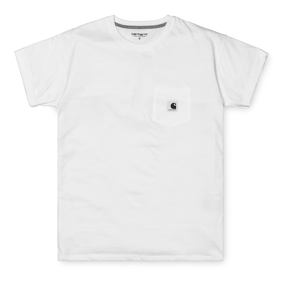 Carhartt W S/S Carrie Pocket Tee White