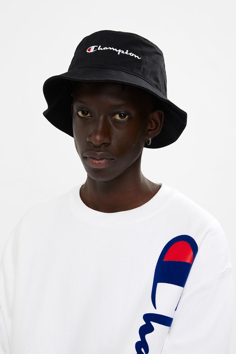 Champion Twill Bucket Hat - Black
