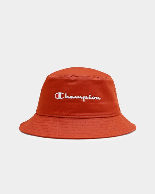 Champion Twill Bucket Hat - Ambitious Orange