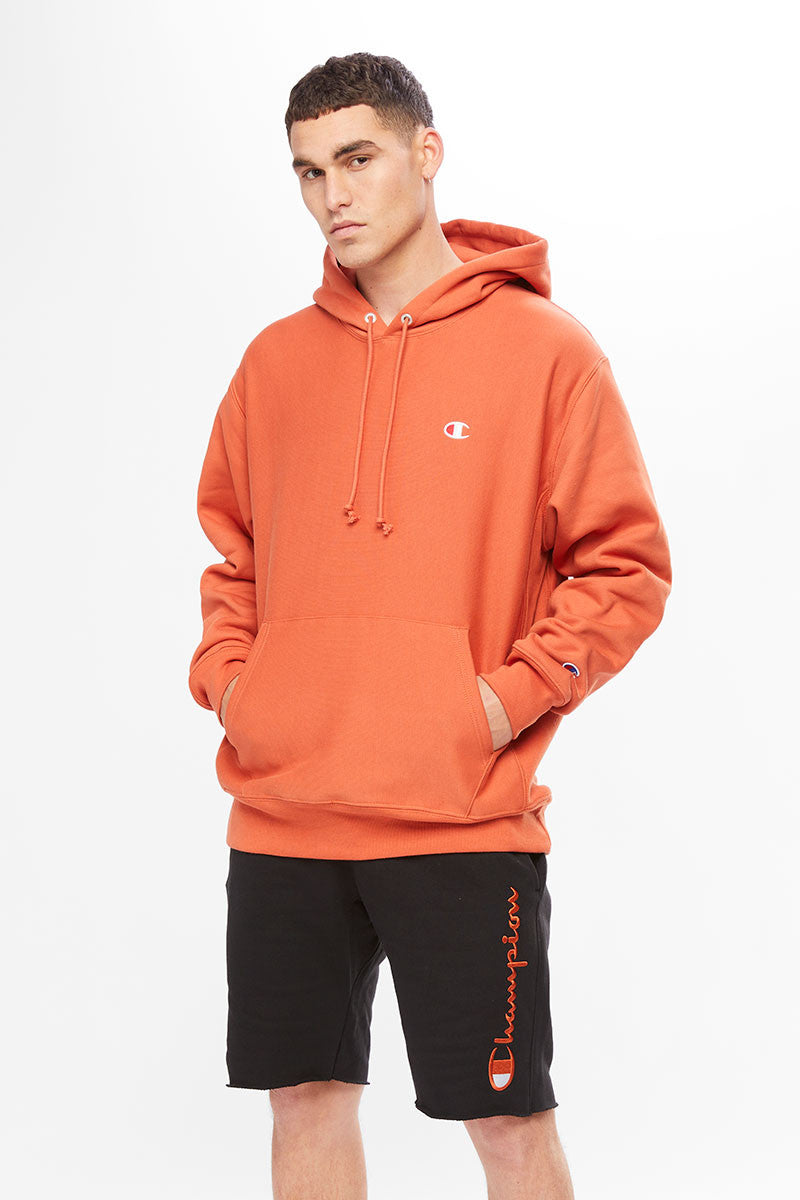 Champion Reverse Weave Hood Ambitious Orange