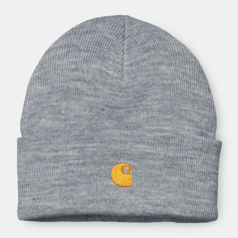 Carhartt Chase Beanie Grey Heather - Stencil