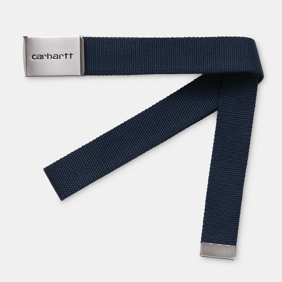 Carhartt Clip Belt Chrome Blue - Stencil
