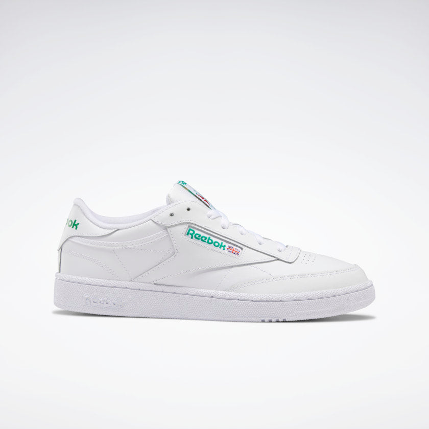 Reebok Club C 85 White/ Green - Stencil