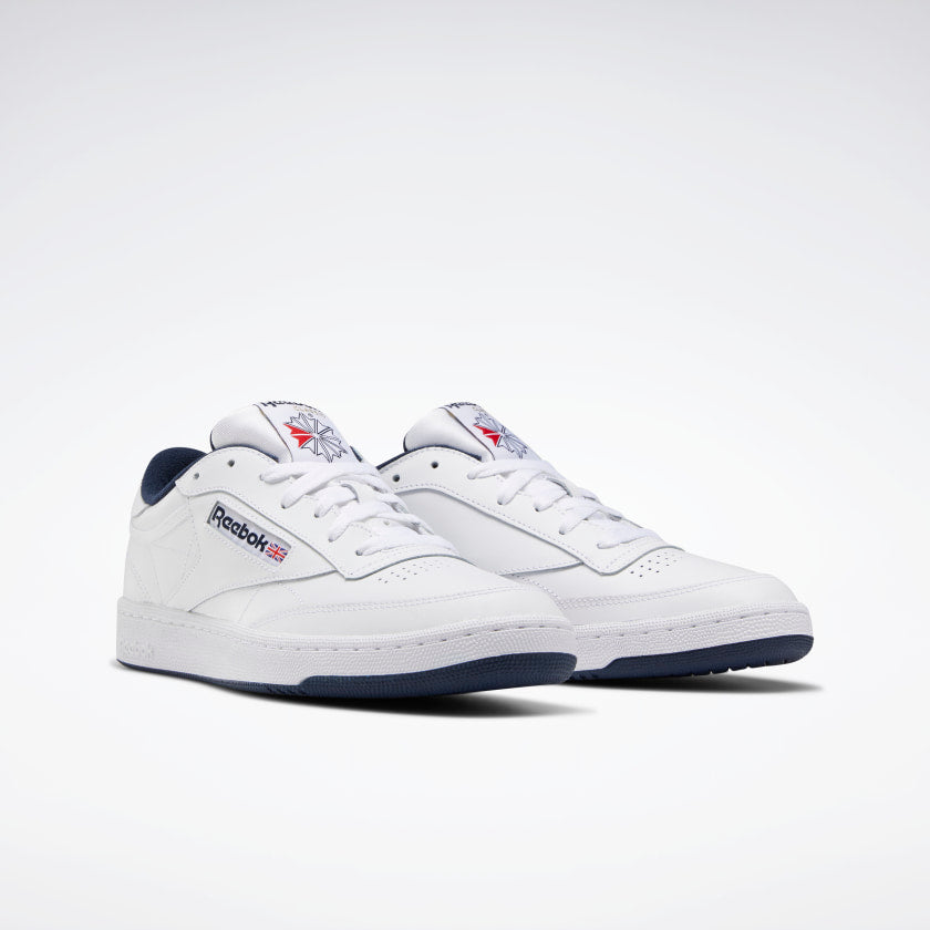 Reebok Club C 85 White/ Navy - Stencil