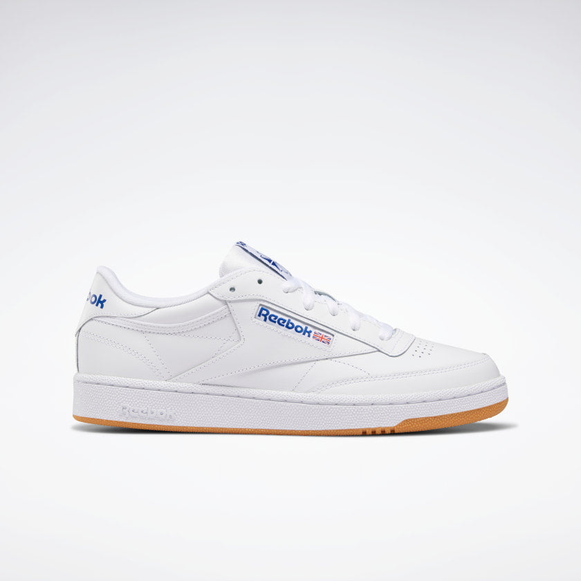 Reebok Club C 85 White/ Royal-Gum - Stencil