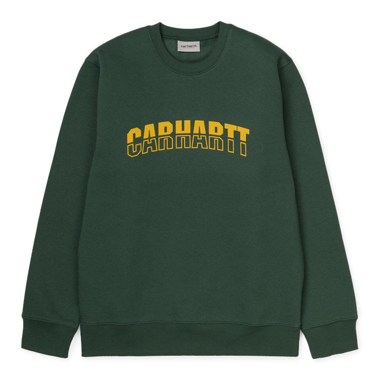 Carhartt District Sweat Treehouse/Fresco - Stencil