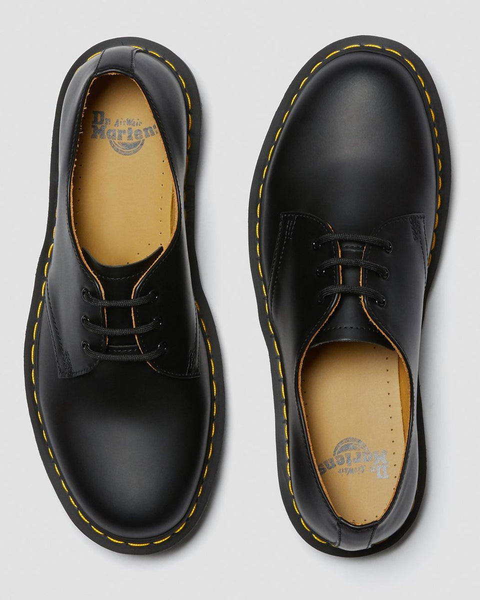 Dr Martens 1461 Smooth Leather Oxford Shoe Black