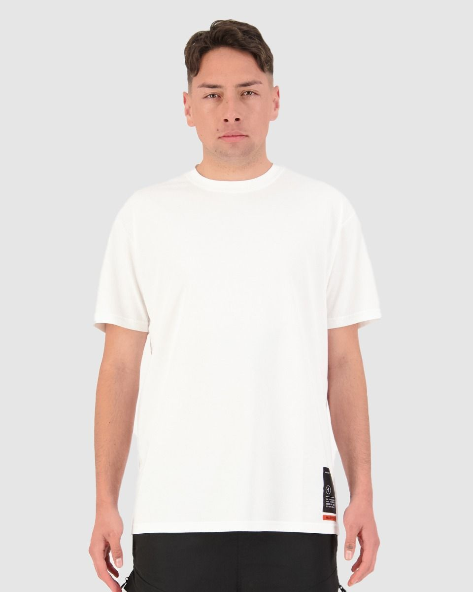 Huffer Highs Sup Tee - Chalk