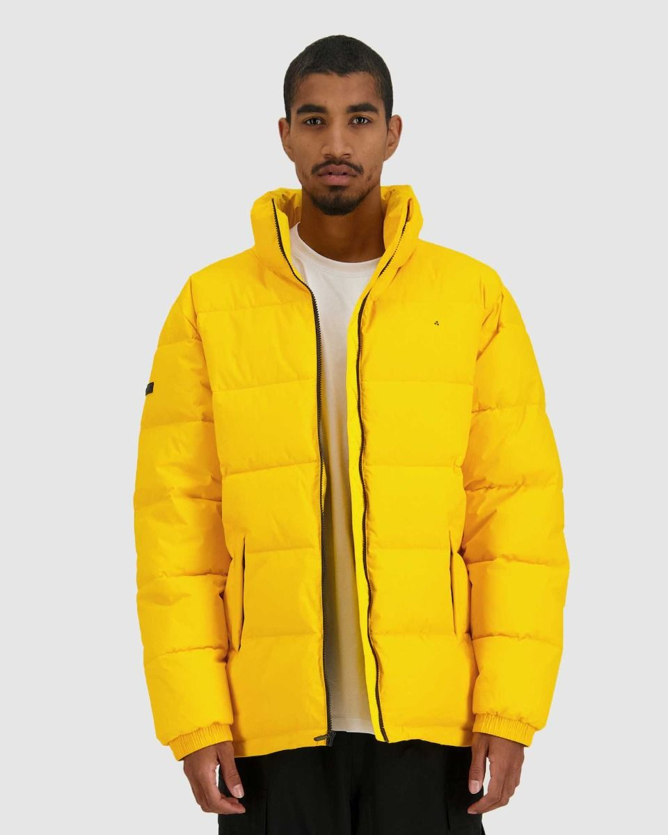 Huffer Mens Track Puffer Jacket Spectra