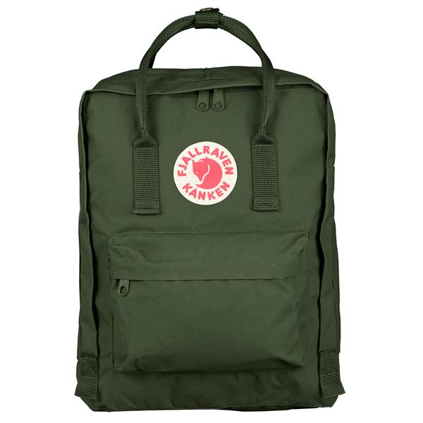 Fjallraven Kanken Backpack Forest Green - Stencil