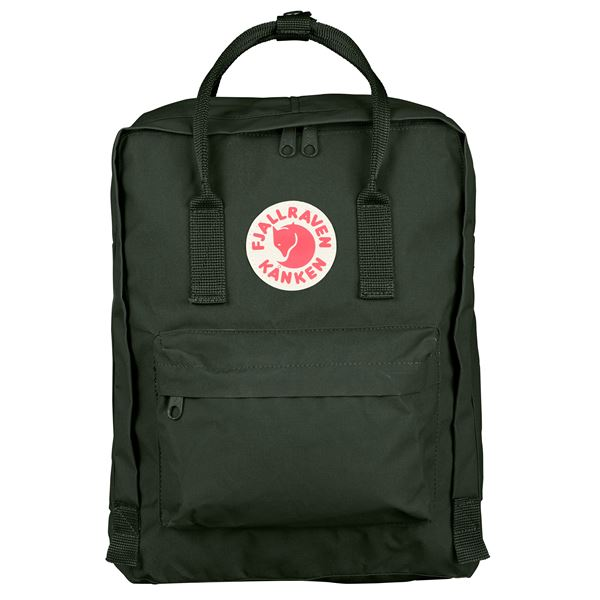 Fjallraven Kanken Backpack Deep Forest - Stencil