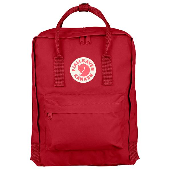 Fjallraven Kanken Backpack Deep Red - Stencil