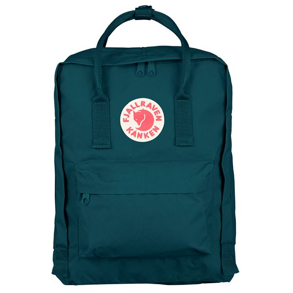 Fjallraven Kanken Backpack Glacier Green - Stencil