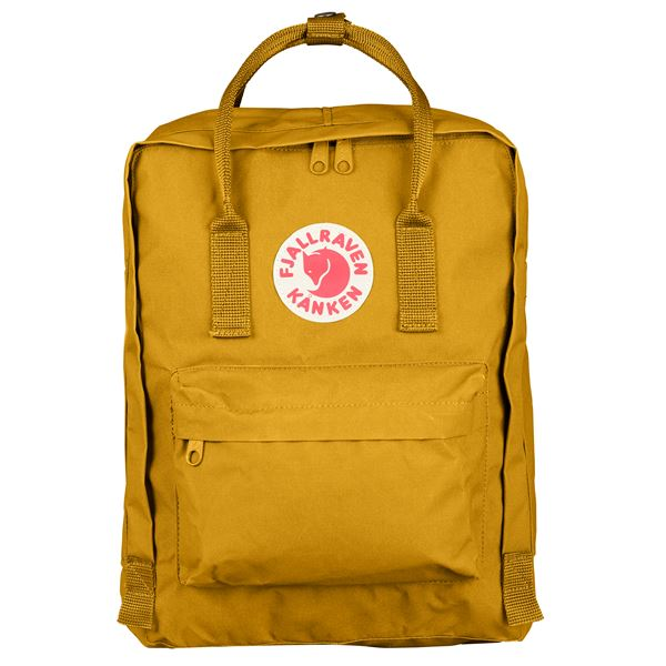 Fjallraven Kanken Backpack Ochre - Stencil