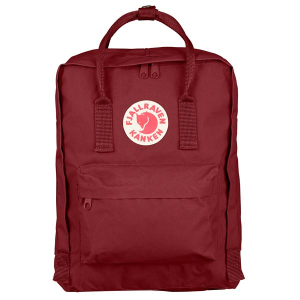 Fjallraven Kanken Backpack Ox Red - Stencil