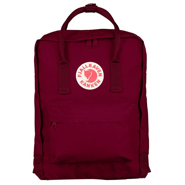 Fjallraven Kanken Backpack Plum - Stencil