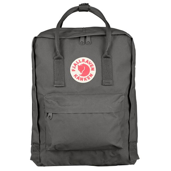 Fjallraven Kanken Backpack Super Grey - Stencil