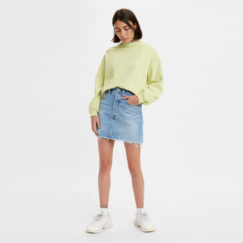 Levis Ribcage Skirt Bernal Tide