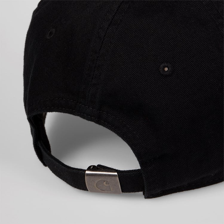 Carhartt Madison Logo Cap Black/ White - Stencil