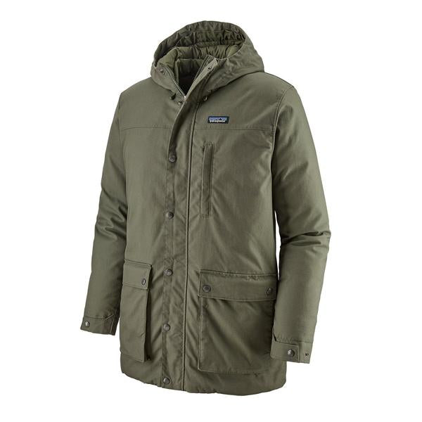 Patagonia Maple Grove Down Parka Industrial Green - Stencil