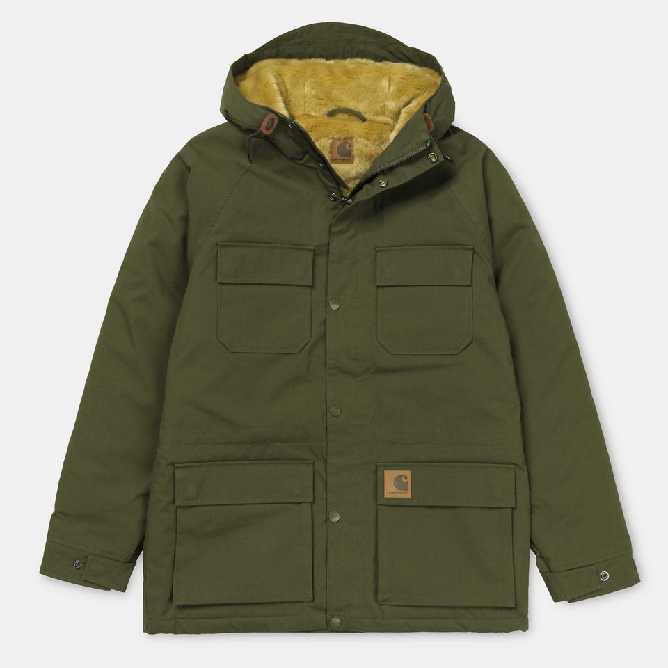Carhartt Mentley Jacket Cypress - Stencil