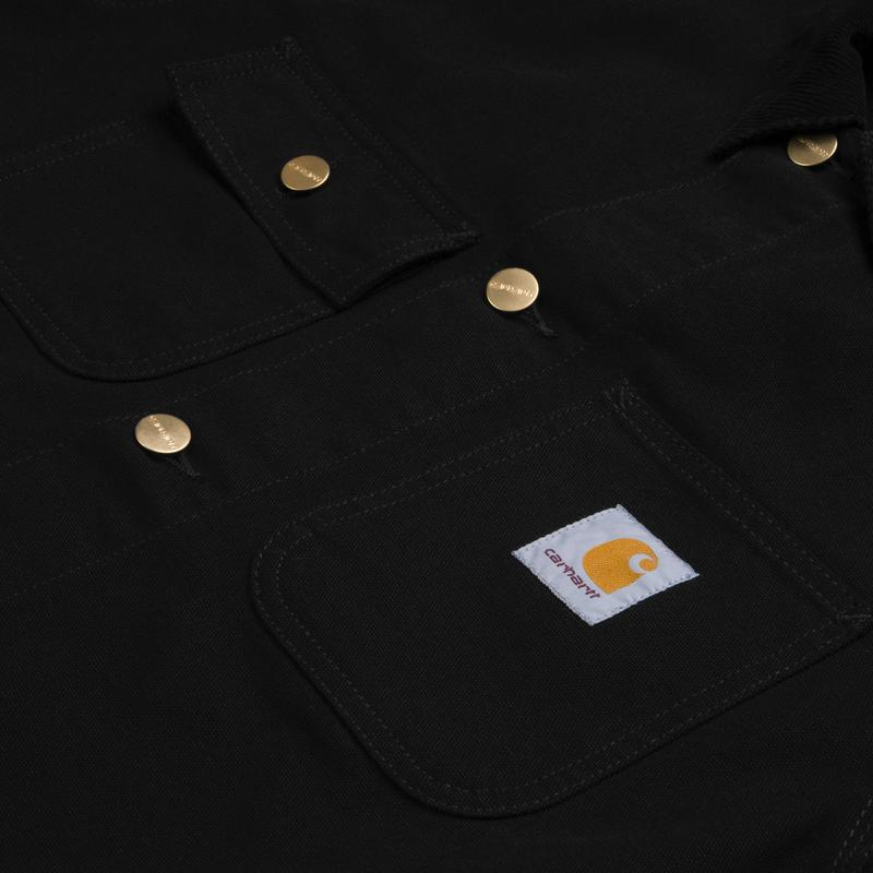 Carhartt Michigan Coat Black - Stencil
