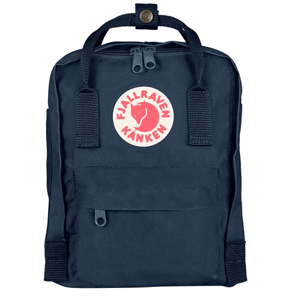 Fjallraven Kanken Mini Backpack Navy - Stencil