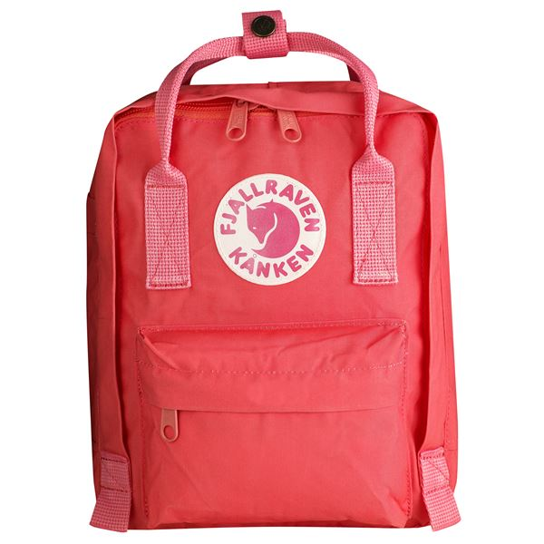 Fjallraven Kanken Mini Backpack Peach Pink - Stencil