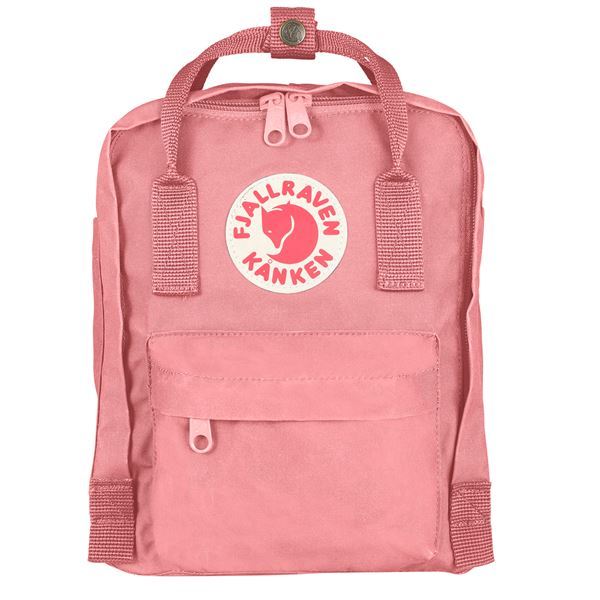 Fjallraven Kanken Mini Backpack Pink - Stencil