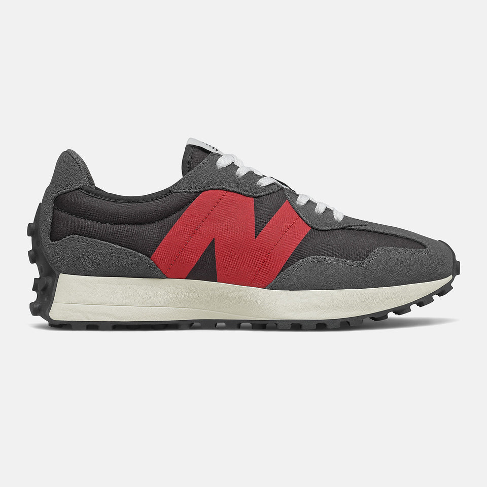 New Balance 327 Magnet With Team Red