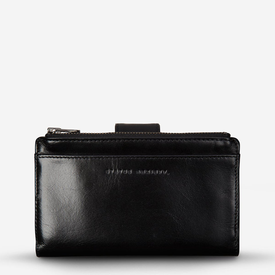 Status Anxiety Outsider Wallet Black