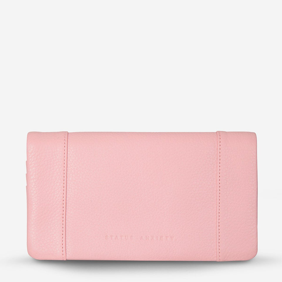 Status Anxiety Some Type Of Love Wallet Soft Pink - Stencil