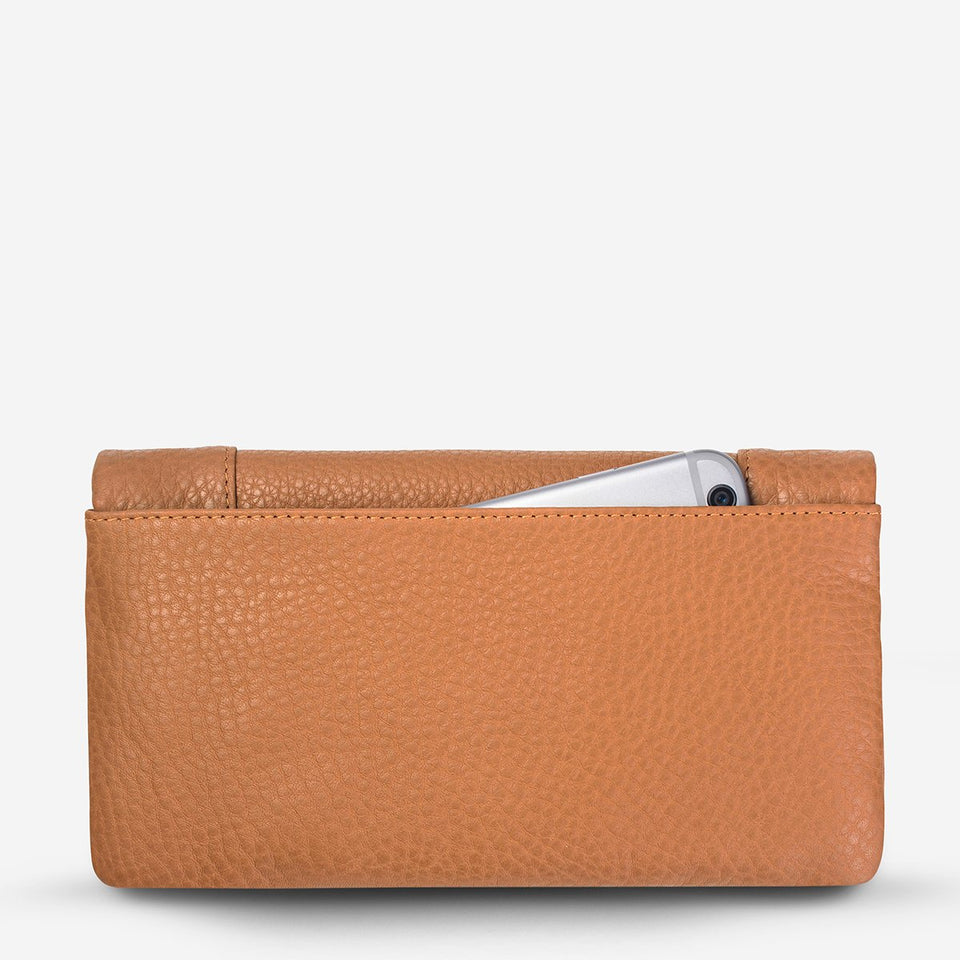 Status Anxiety Some Type Of Love Wallet Tan - Stencil